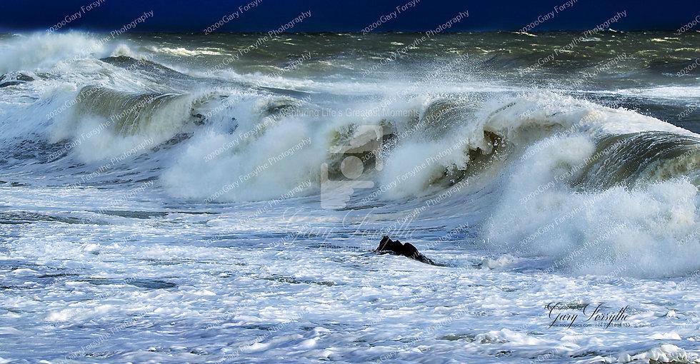 Storm Surge - Irish Sea Ireland