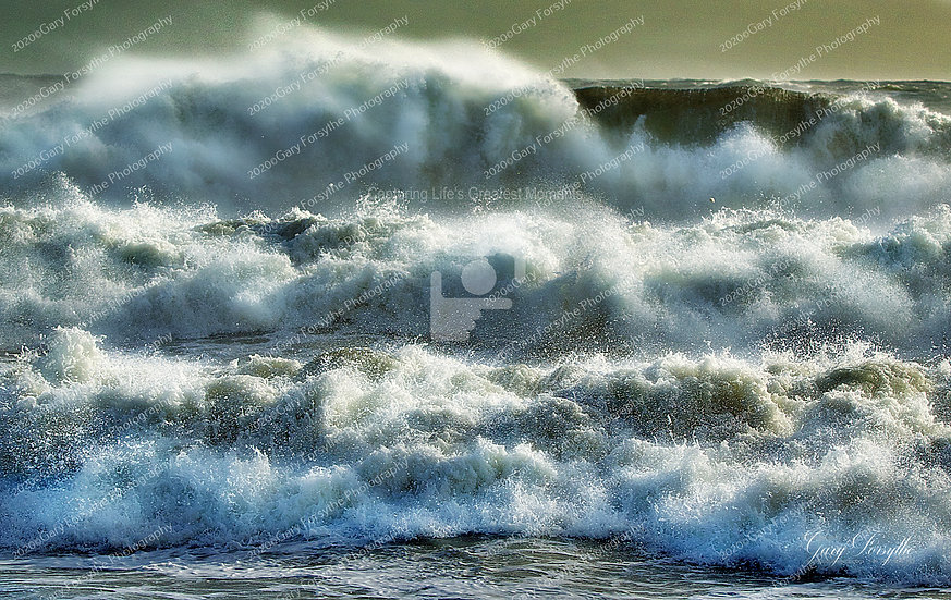 Storm Waves - Irish Sea - Ireland