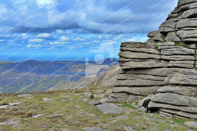 North 'Castle' to 'Shannagh' - 'Mourne' Mountains - Ireland