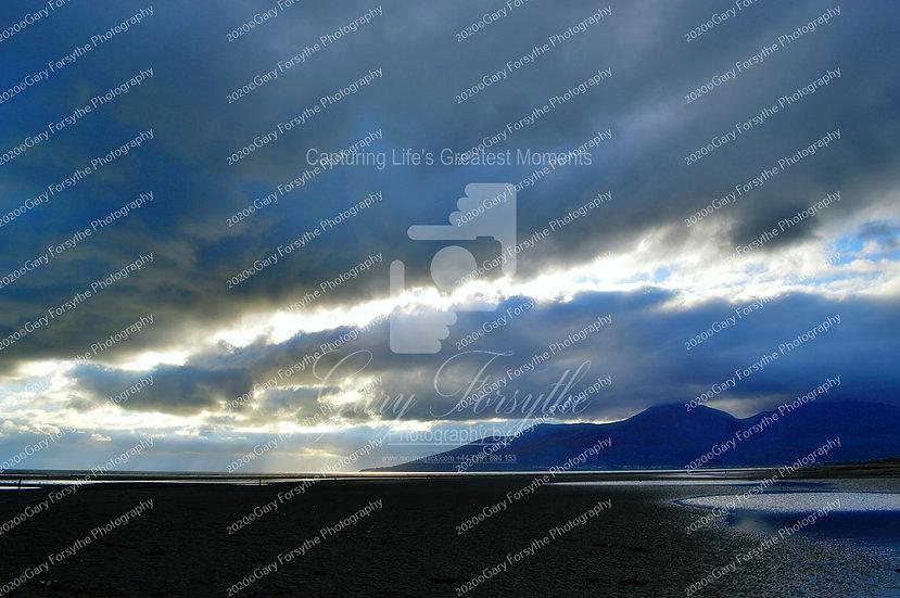 Storm Clouds Over 'Mournes' - Ireland