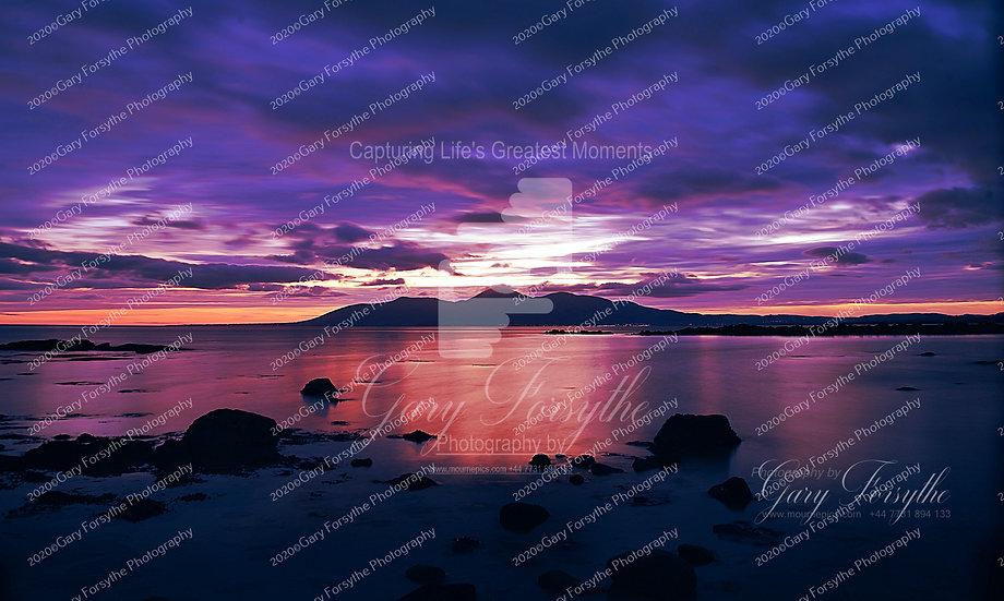 Mountains of 'Mourne' Sunset - Ireland