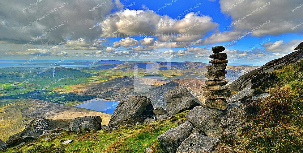 Stone Pillar - 'Mourne' Mountains - Ireland