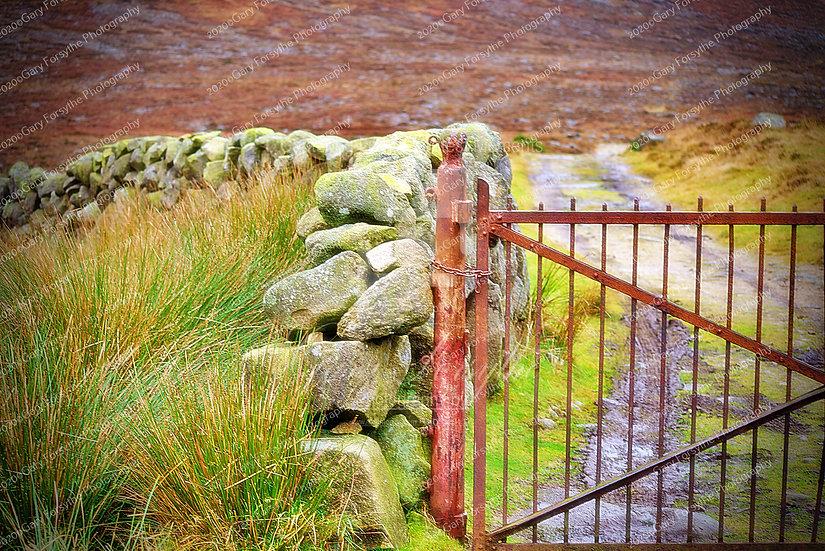 Waterworks Gate - Shannagh Track - Ireland