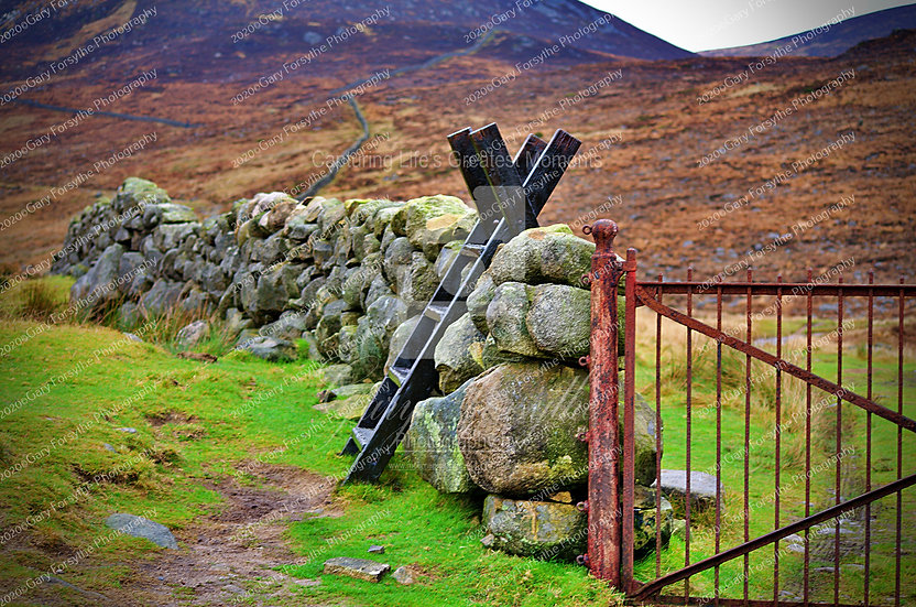 Up to 'Lough Shannagh', Mountains of 'Mourne' - Ireland
