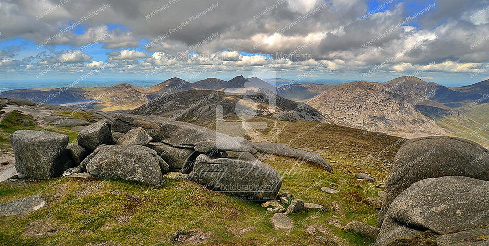 'Lough Shannagh' from 'Slieve Binnian'- Ireland