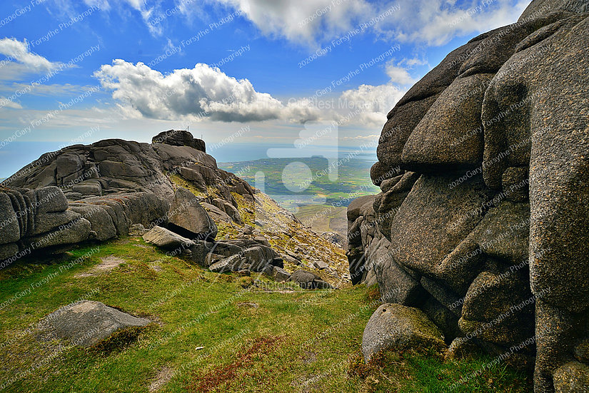 Summit - 'Slieve Binnian' - 'Mourne' Mountains - Ireland