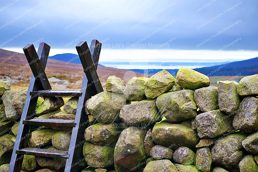 A 'Mourne' Drystone wall - Ireland