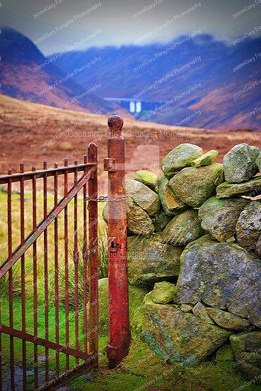 Belfast Waterworks 'Ben Crom' Gate - Ireland