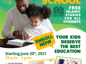 Fajr Al-Islam Sunday School - Starting June 20th