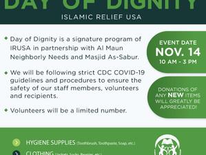 Day of Dignity November 14, 2020