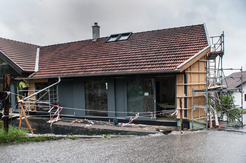Holz I Bau I Wagen GmbH - Bauen im Bestand - Tennenumbau Pähl