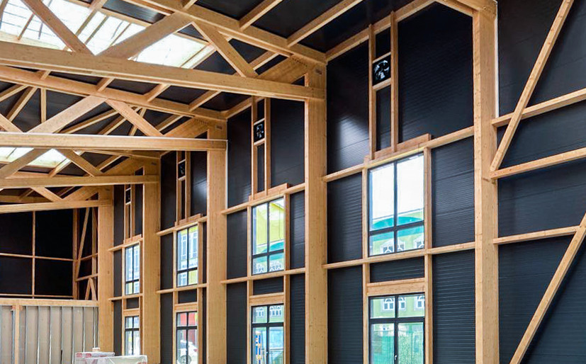 Holz I Bau I Wagen GmbH - Hallenbau - Halle Rosenheim
