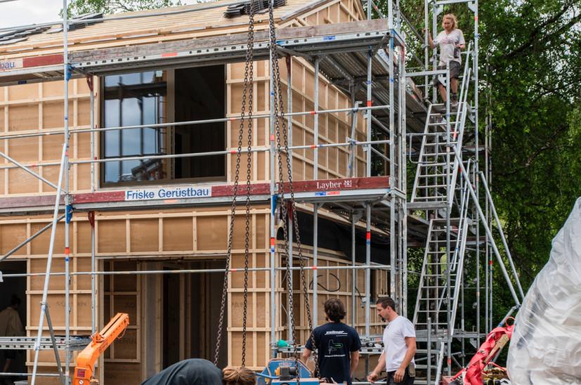 Holz I Bau I Wagen GmbH - Hausbau, Holzbau - Haus Unterzeismering
