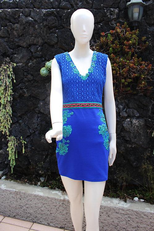 Mini Vestido Bordado