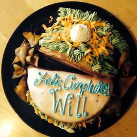 Taco Birthday Cake