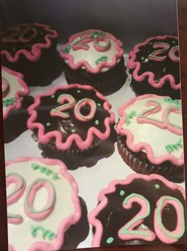 Birthday Celebration Cupcakes