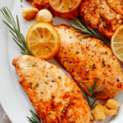 Wednesday Baked Chicken with rosemary parmesan sauce
