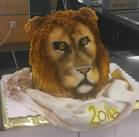 Lion Cake