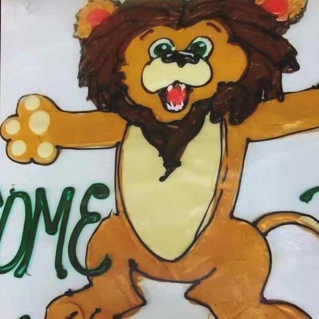 MSSU Lions Cake
