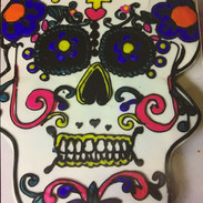 Decorative Skull Cake