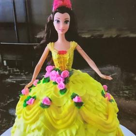 Belle Birthday Cake