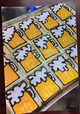 Beer Mug Cookies