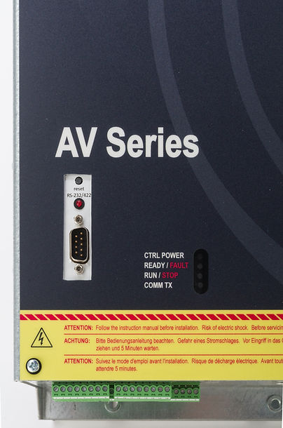 spindel electronics av series high frequency drive