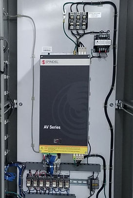 spindel electronics av series high frequency drive enclosure