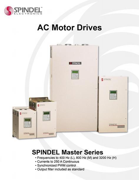 spindel electronics spindel master series brochure