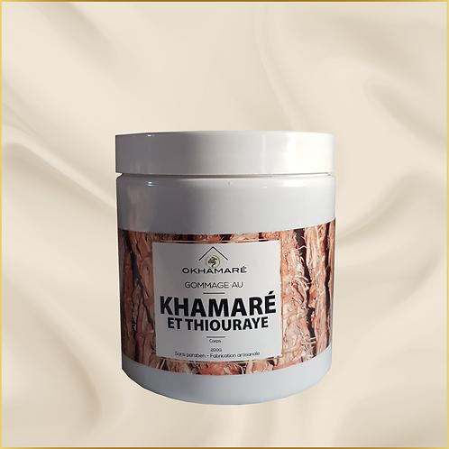 Gommage au Khamaré et thiouraye corps