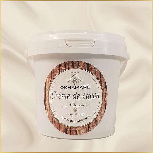 Crème de savon au khamaré