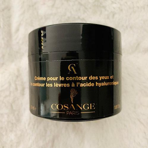Crème pour le contour des yeux et le contour des lèvres à l'acide hyaluronique
