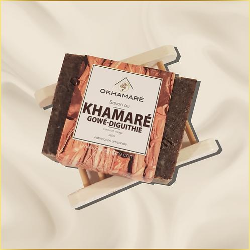 Savon aux 3 plantes : Khamaré, Gowé, Diguithié