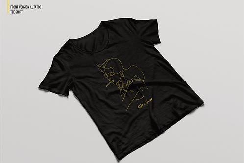 "T-shirt ""NUIT"" X Nine Ink"