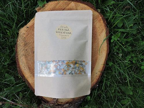 arnica cordifolia flowers + 1 oz dried herb + montana wildcrafted + 2020 harvest