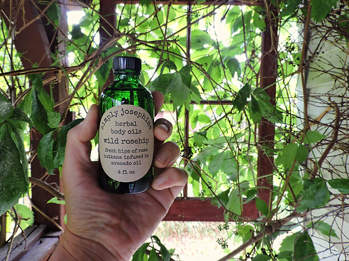 wild rosehip body oil