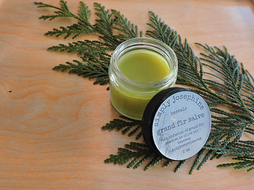 grand fir salve + forest balm + essential oil free