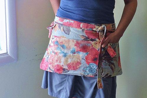 gardener apron + heavy duty apron + floral apron