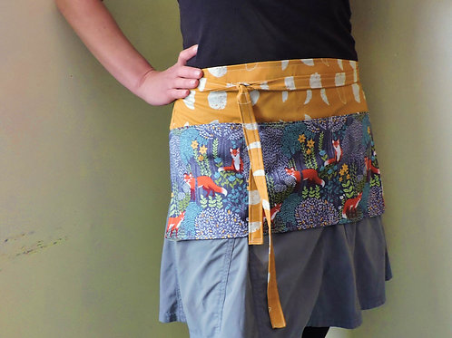 fox moon phase apron