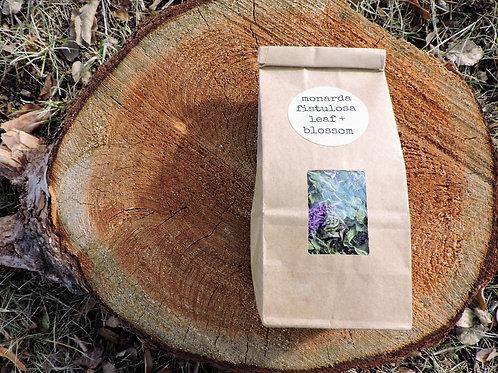 dried monarda fistulosa + wild bergamot + bee balm + 1 ounce