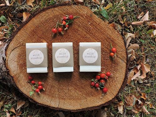 wild rosehip tallow + handmade soap + 3 bars