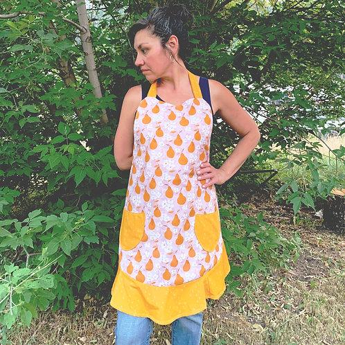 summer's end sassy apron