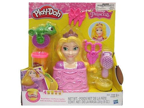 Salão de beleza Rapunzel - Play-doh
