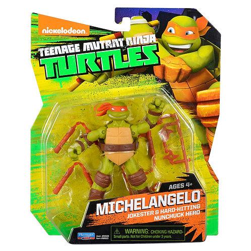 Michelangelo com chacos - Tartarugas Ninja
