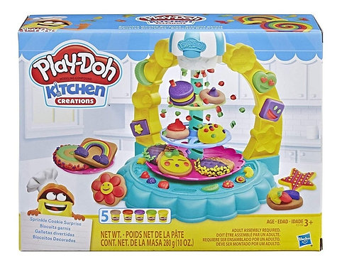 Biscoitos decorados - Play-Doh