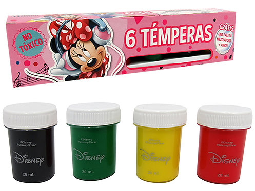 Tempera Minnie - 6 cores