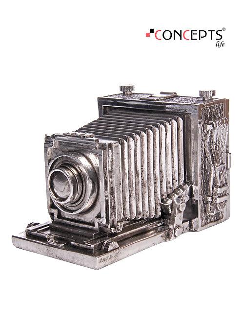 Câmera retrô decorativa
