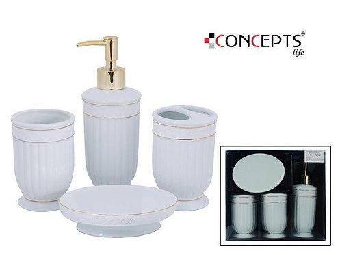 Conjunto para banheiro - 4 peças
