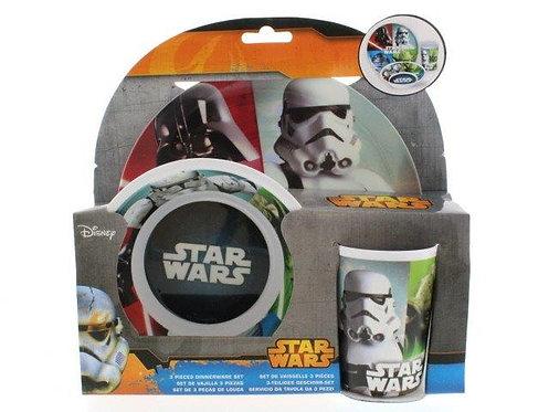 Kit x3 Louça Star Wars