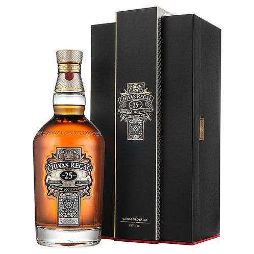 Whisky Chivas Regal 25 Anos - 700ml